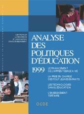 Analyse des politiques d'éducation 1999