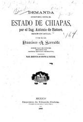 Demanda interpuesta contra el estado de Chiapas ... sobre pago de cupones emitidos por aquella entidad federativa: valor juridico de los efecots al portador