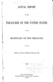Annual Report of the Treasurer of the United States ...