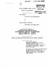 California. Supreme Court. Records and Briefs: S025311, Petition for Review