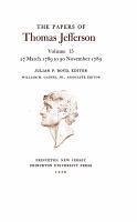 The Papers of Thomas Jefferson  Mar  1789 to 30 Nov  1789 PDF