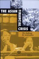 The Asian Financial Crisis PDF