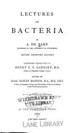 Lectures on Bacteria