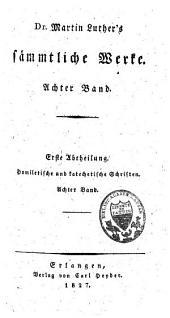 Sämmtliche Werke: nach den ältesten Ausgaben, Band 8