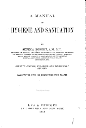 A Manual of Hygiene and Sanitation