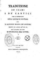 Traduzione de'salmi e de'cantici che si contengono nell' Officio Divino...