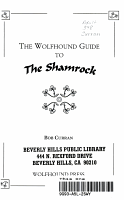 The Wolfhound Guide to the Shamrock PDF