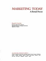 Marketing Today   a Retail Focus PDF