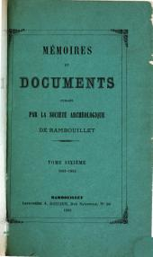 Mémoires: Volume 6