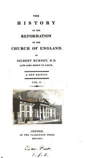 A history of the reformation of the Church of England. 3 vols. [in 6].