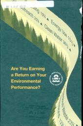 Are you earning a return on your environmental performance