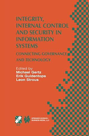 Integrity  Internal Control and Security in Information Systems PDF