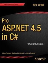 Pro ASP.NET 4.5 in C#: Edition 5