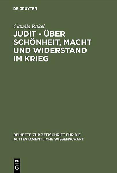 Judit       ber Sch  nheit  Macht und Widerstand im Krieg PDF