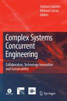 Complex Systems Concurrent Engineering PDF