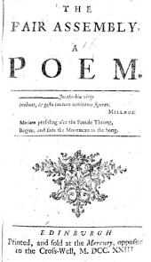 The Fair Assembly. A Poem