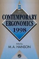 Contemporary Ergonomics 1998 PDF