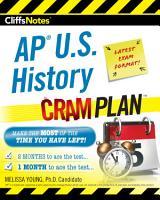 CliffsNotes AP U S  History Cram Plan PDF