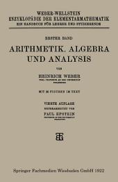 Arithmetik, Algebra und Analysis: Ausgabe 4