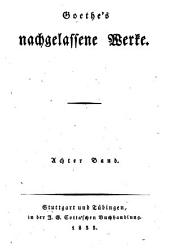 Goethe's werke: Bände 47-48