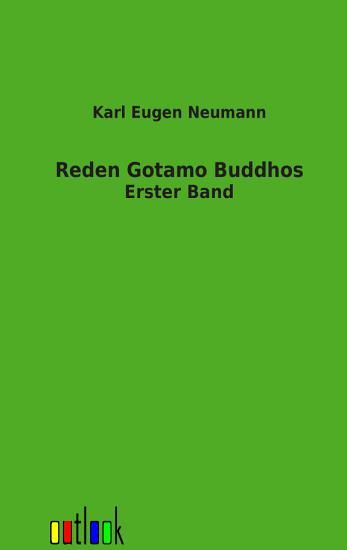 Die Reden Gotamo Buddhos PDF