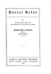 English Men of Letters: Volume 6