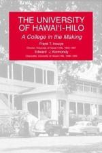 THE UNIVERSITY OF HAWAI'I-HILO