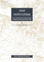 L'Analisi Linguistica e Letteraria 2015-1