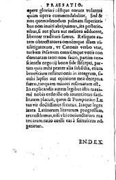 Catalogus legum antiquarum: una cum adiuncta ... interpretatione