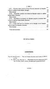 Exposé des guerres de Tamerlan et de Schah-Rokh dans l'Asie occidentale, d'après la chronique Arménienne inédite de Thomas de Medzoph
