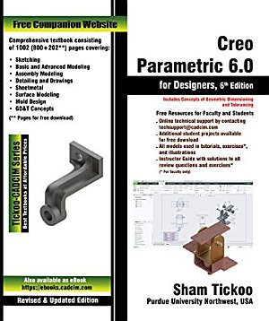 Creo Parametric 6 0 for Designers  6th Edition PDF
