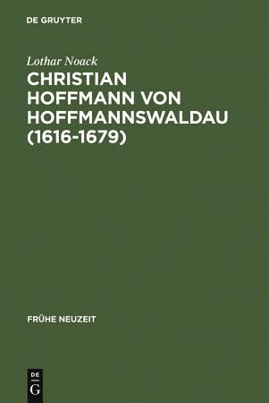 Christian Hoffmann von Hoffmannswaldau  1616 1679  PDF