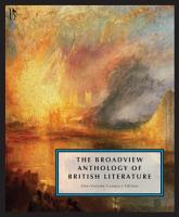 The Broadview Anthology of British Literature  One Volume Compact Edition PDF