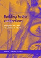 Building Better Connections PDF