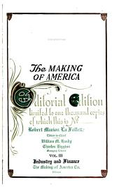 The Making of America: Volume 3