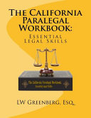 The California Paralegal Workbook PDF