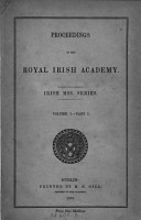 Proceedings of the Royal Irish Academy  Irish Mss  Series PDF