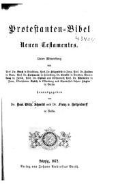 Protestanten-Bibel: Neuen Testamentes, Band 1