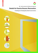 Details for Passive Houses: Renovation