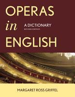 Operas in English PDF