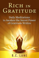 Rich in Gratitude Book
