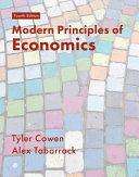 Modern Principles of Economics Book
