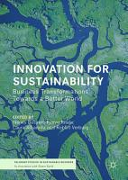 Innovation for Sustainability PDF