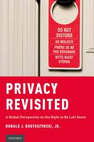 Privacy Revisited PDF