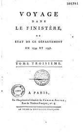 Voyage dans le finistère: ou état de ce département en 1794 et 1795