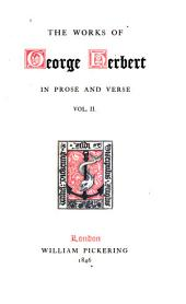 The Works of George Herbert: Poetry