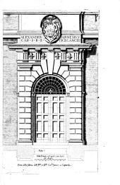 Alcune opere d'architettura di Jacomo Barotio da Vignola, Raccolte et poste in luce da Francesco Villamena