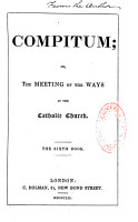 Compitum  Or the Meeting of the Ways at the Catholic Church PDF
