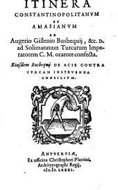 Itinera Constantinopolitanum Et Amasianum