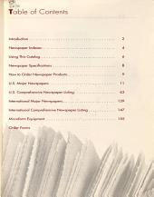 Newspapers in Microform PDF